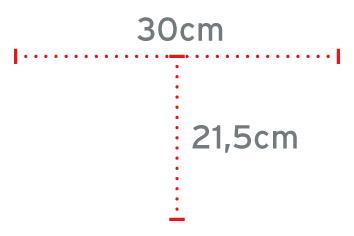 Dimenzije trinožne palice
