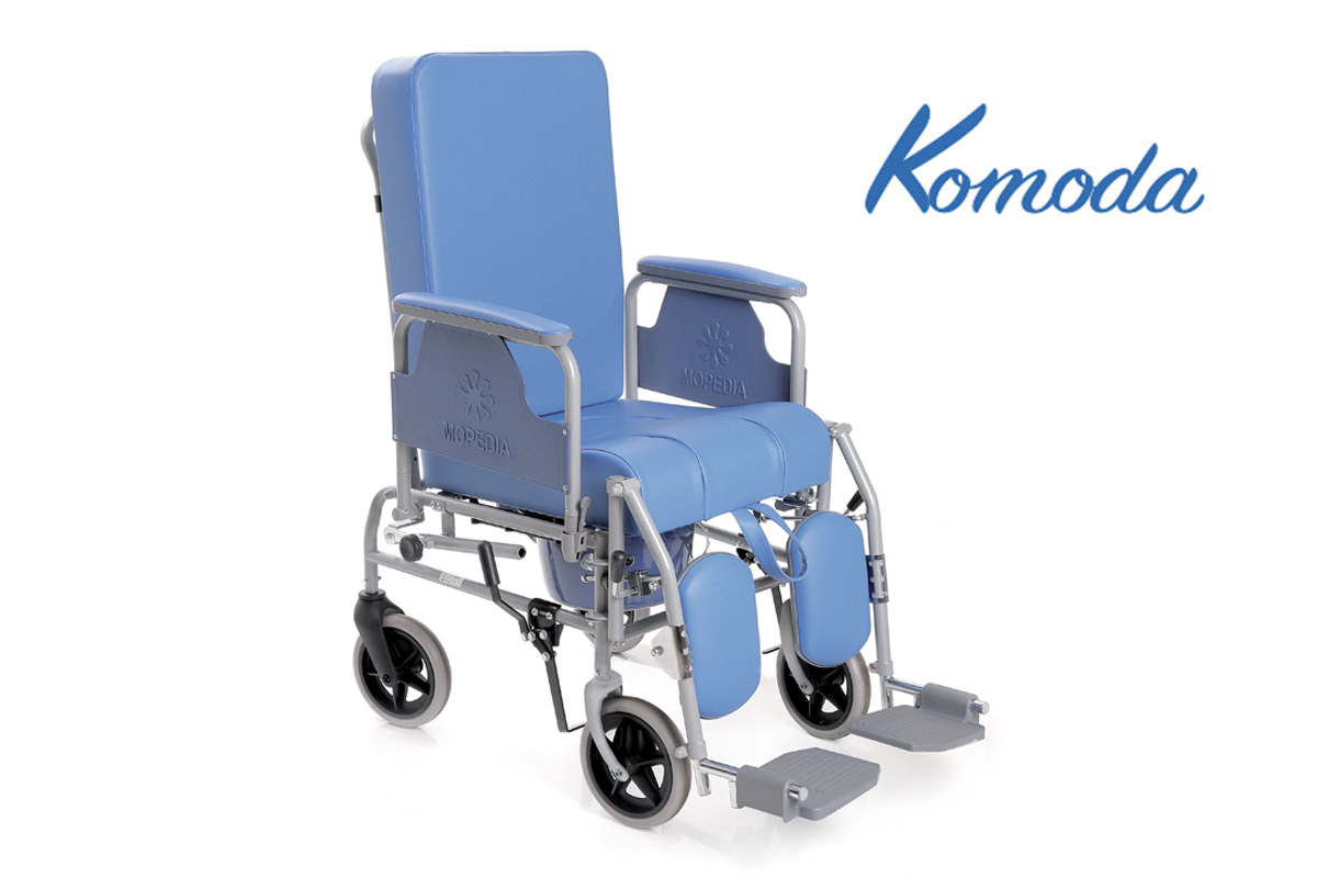 Sedia comoda in acciaio verniciato serie Komoda - Con ...