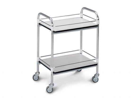 Carrelli di servizio per corsia in alluminio