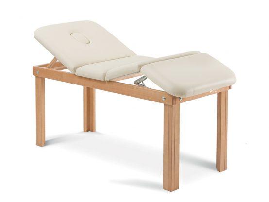 Lettini professionali per trattamenti e visita in legno - DENEB