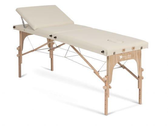Lettini pieghevoli a valigia per trattamenti in legno - POLARIS