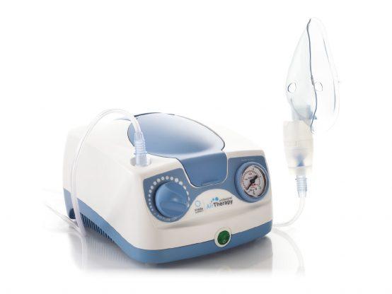 Aerosol a compressione e ultrasuoni