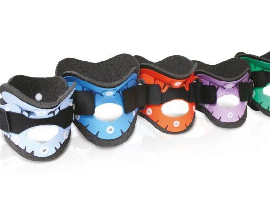 Collari radiotrasparenti e compatibili con TAC e RMN